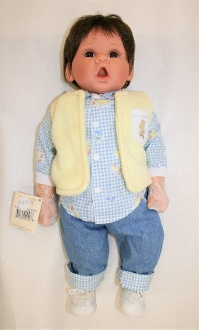Boy with Blue Jeans Treasure Child by Middleton